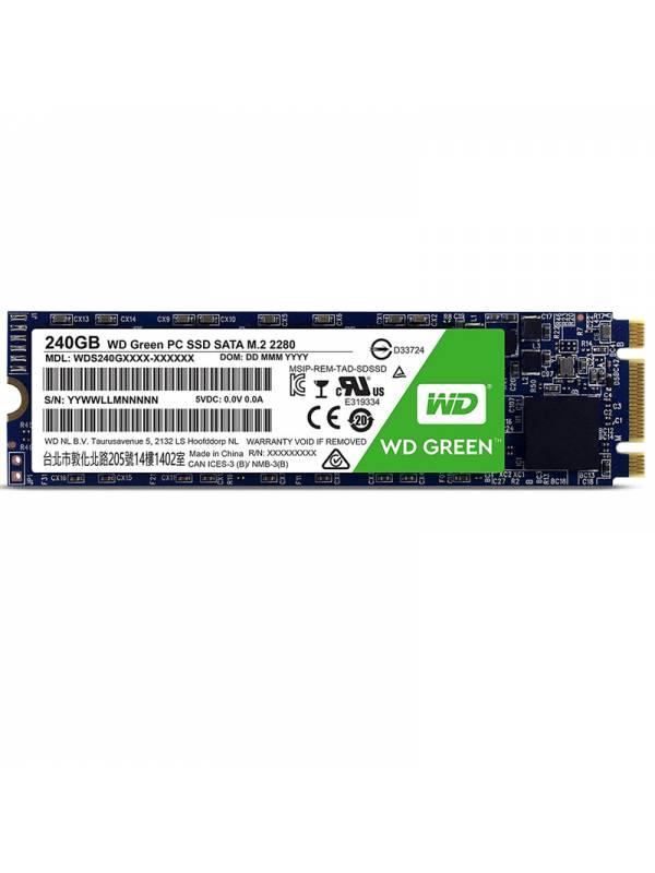 DISCO SSD  240GB WD M.2 GREEN  SATA 6GBs