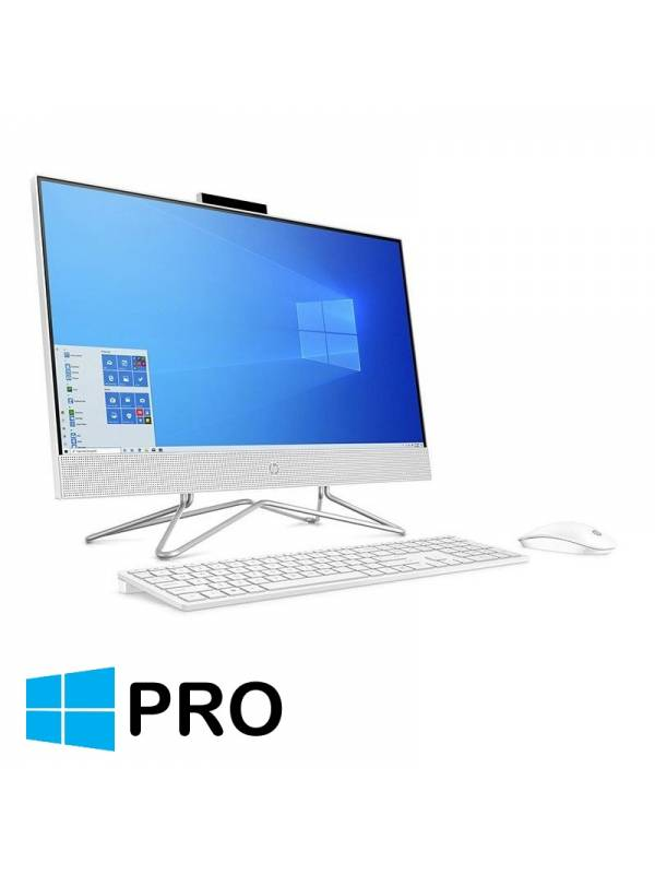 LCD PC 23.8 HP 24-DF0048NS I5 -10400T 8GB 512GB W10P BLANCO