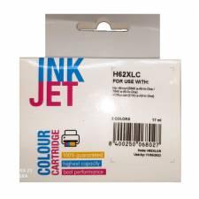 CARTUCHO INK HP H62XLC 62XL    TRICOLOR